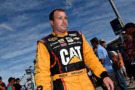 Ryan Newman, driver of the #31 Caterpillar Chevrolet, walks on the grid prior to the NASCAR Sprint Cup Series Ford EcoBoost 400 at Homestead-Miami Speedway on November 16, 2014 in Homestead, Florida. - Photo Credi: Patrick Smith/Getty Images