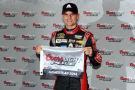 Jeff Gordon, driver of the #24 Drive To End Hunger Chevrolet, poses with the Coors Light Pole Award after qualifying for pole position for the NASCAR Sprint Cup Series Ford EcoBoost 400 at Homestead-Miami Speedway on November 14, 2014 in Homestead, Florida. - Photo Credit: Robert Laberge/Getty Images