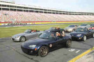 The Black Friday Blowout returns to Charlotte Motor Speedway on Friday, Nov. 28, offering fans the rare chance to drive on the famed 1.5-mile superspeedway. (CMS/Jonathan Coleman photo)