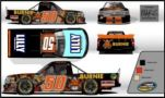 Cody Ware, No. 50 Burnie Grill / BUBBA burger® Chevrolet Silverado Layout