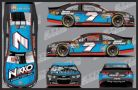 Alex Bowman, No. 7 Toy State Chevrolet SS Layout
