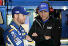 2015 NSCS Driver Dale Earnhardt Jr and Crew Chief Greg Ives - Photo Credit: Brian Lawdermilk/Getty Images