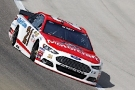 Ryan Blaney on track in the No. 21 Motorcraft/Quick Lane Ford Fusion