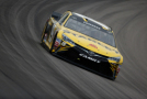 Carl Edwards, driver of the #19 Stanley Toyota, practices for the NASCAR Sprint Cup Series SpongeBob SquarePants 400 at Kansas Speedway on May 8, 2015 in Kansas City, Kansas. - Photo Credit: Jeff Zelevansky/Getty Images