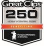 Great Clips 250 Benefiting Paralyzed Veterans of America Event Logo