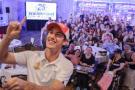 NASCAR Sprint Cup Series driver, Joey Logano, visits Nashua, N.H., to kick off silver anniversary season at NHMS