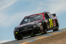 Jeff Gordon, driver of the #24 AARP Member Advantages Chevrolet, races during the NASCAR Sprint Cup Series Toyota/Save Mart 350 at Sonoma Raceway on June 28, 2015 in Sonoma, California. - Photo Credit: Ezra Shaw/Getty Images