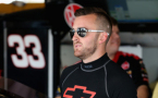 Austin Dillon, driver of the #33 Rheem Chevrolet, prepares for practice for the NASCAR XFINITY Series Owens Corning AttiCat 300 at Chicagoland Speedway on June 19, 2015 in Joliet, Illinois. (June 18, 2015 - Photo Credit: Jonathan Daniel/Getty Images