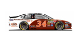 2015 NSCS No. 34 Rootbeerfloatday.com Ford Fusion (Rendition)