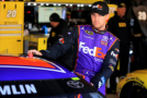 2015 NSCS Driver, Denny Hamlin (FedEx Express) - Photo Credit: Daniel Shirey/Getty Images
