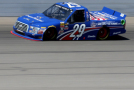 2015 NCWTS Driver, Ryan Blaney on track in the No. 29 Cooper Standard Ford F-150 - Photo Credit: Jerry Markland/Getty Images