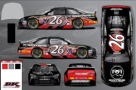 2015 NSCS No. 26 Rocky Ridge Custom Trucks Toyota Camry (Rendition)