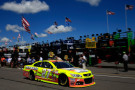 2015 NSCS Driver, Paul Menard in the No. 27 Sylvania / Menards Chevrolet SS - Photo Credit: Chris Trotman/Getty Images