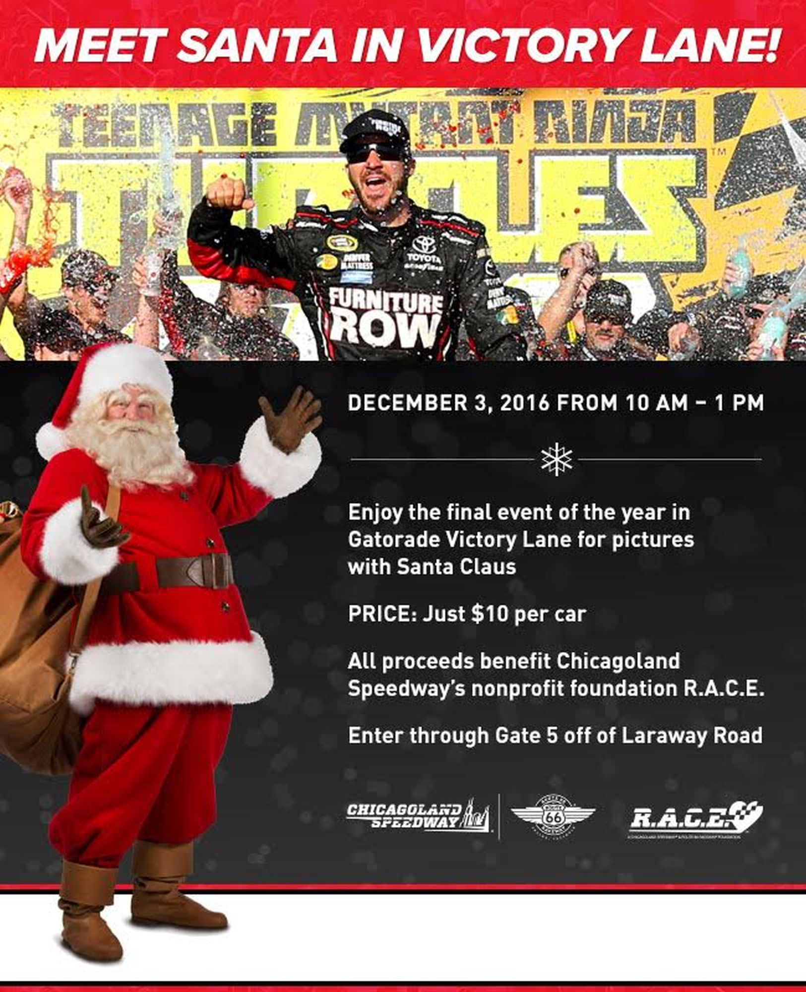 Chicagoland Speedway to provide additional activities during Santa ...