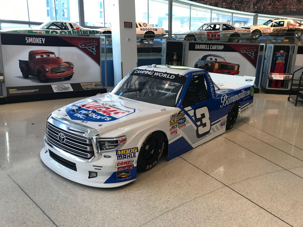 jordan anderson racing to campaign full nascar camping world truck